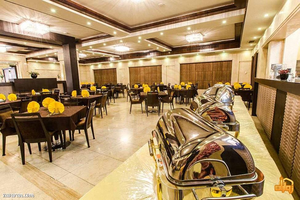 رستوران هتل آرامیس مشهد