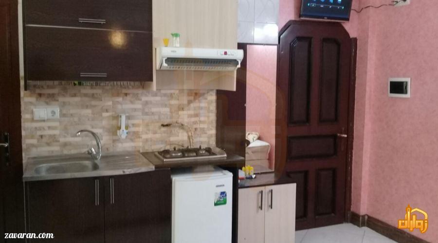 رزرو اتاق با آشپزخانه در هتل آپارتمان آنا مشهد