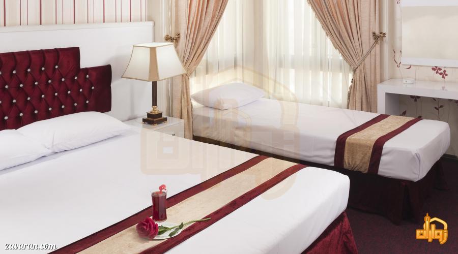 رزرو اتاق سه تخته هتل رضویه مشهد