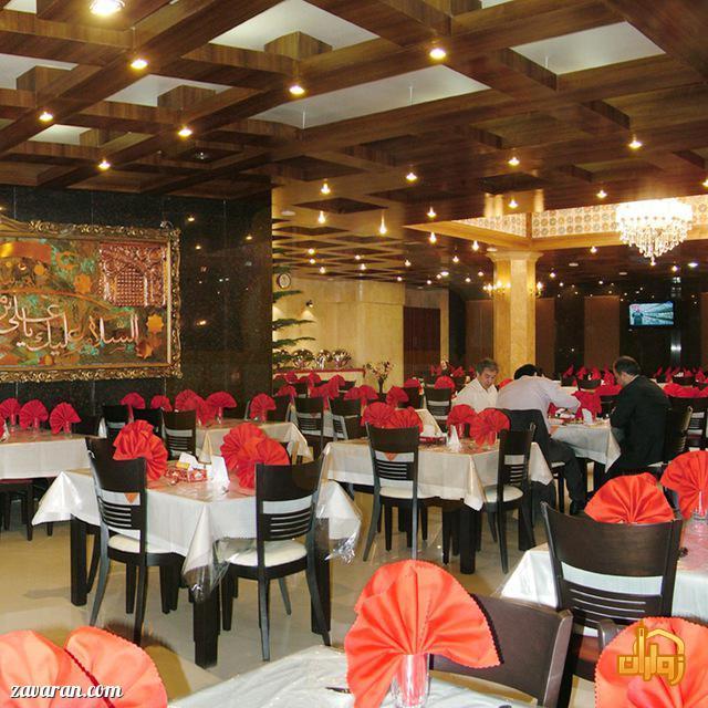 رستوران هتل پارمیدا مشهد