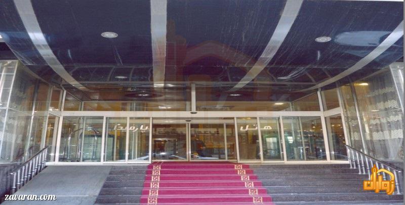 معرفی هتل پارمیدا مشهد