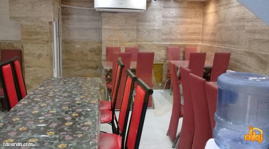 رستوران هتل آپارتمان آنا مشهد