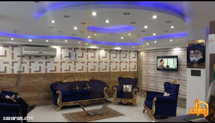 لابی هتل آپارتمان آنا مشهد