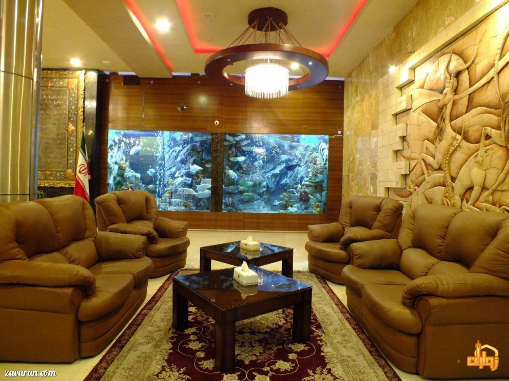 لابی هتل پارمیدا مشهد