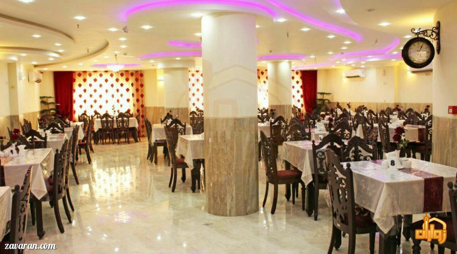 رستوران هتل آپارتمان آفرین مشهد