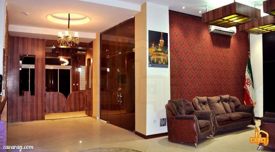 ورودی هتل برجیس مشهد
