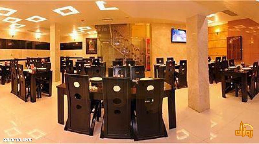 رستوران هتل آپارتمان ادمان مشهد