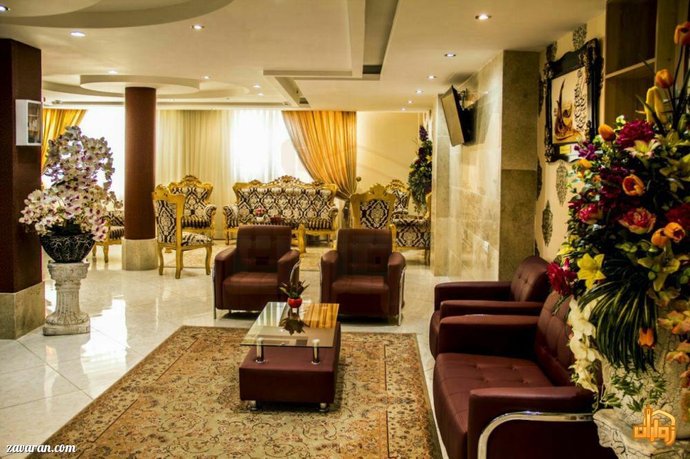 لابی هتل آپارتمان شکرانه مشهد