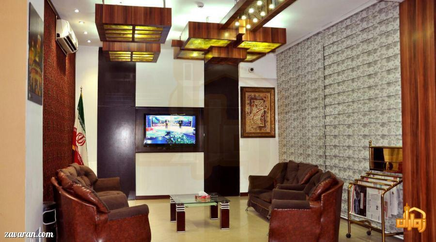 لابی هتل برجیس مشهد