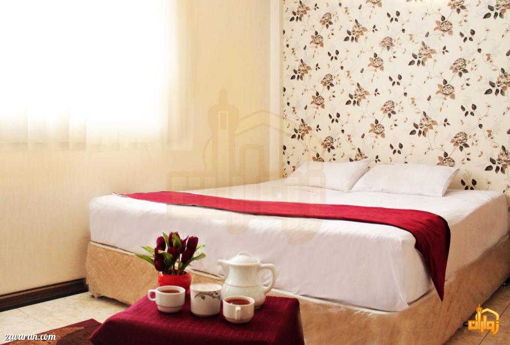 رزرو اتاق دو تخته هتل آپارتمان شکرانه مشهد