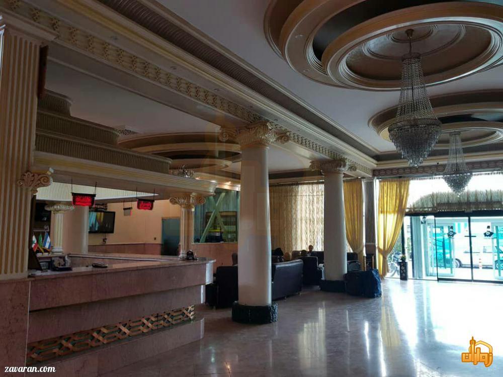 قیمت هتل دو ستاره امیرکبیر برای ایام نوروز98