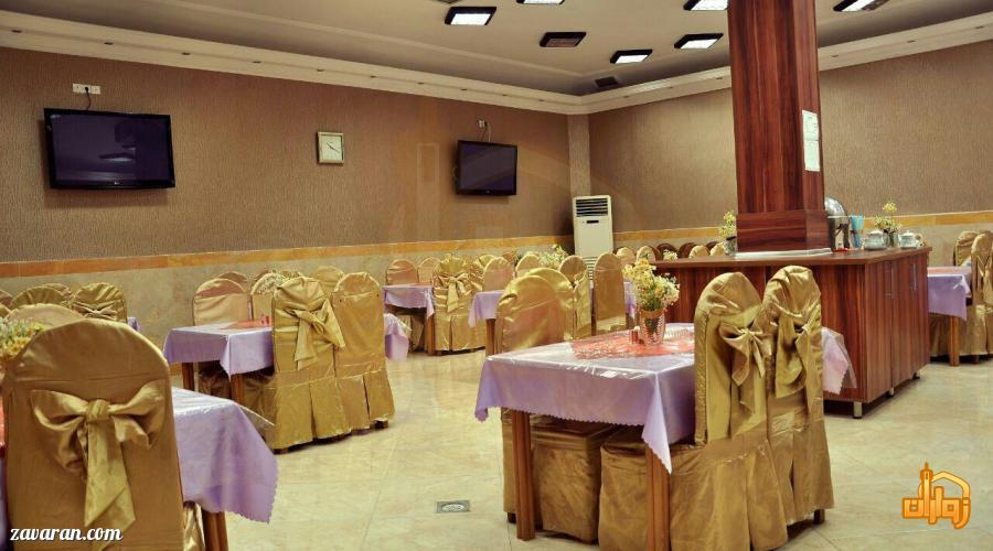 رستوران هتل برجیس مشهد