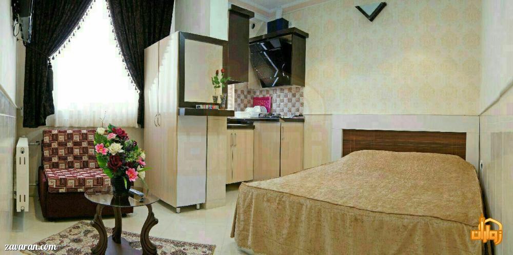 رزرو اتاق دو تخته هتل آپارتمان ثقلین مشهد