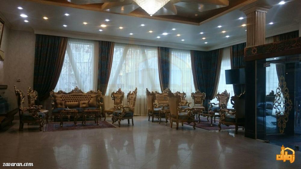لابی هتل آپارتمان فرات مشهد