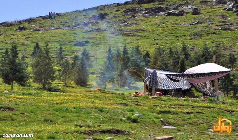 طبیعت روستای عنبران طرقبه شاندیز