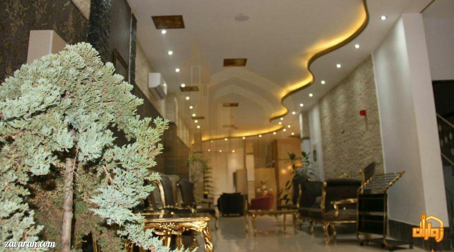 قیمت هتل آپارتمان هومن مشهد در ایام نوروز 98