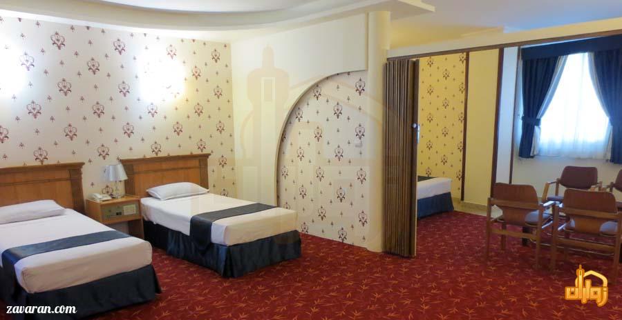رزرو اتاق در هتل جم مشهد