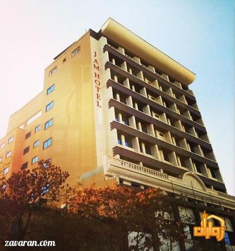 ساختمان هتل جم مشهد
