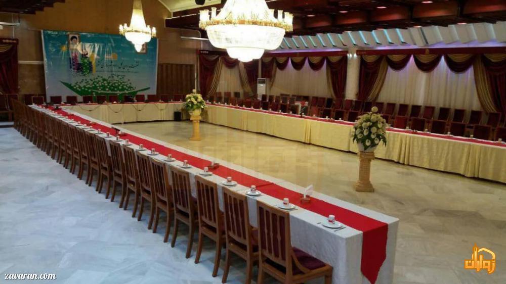 سالن اجتماعات هتل جم مشهد