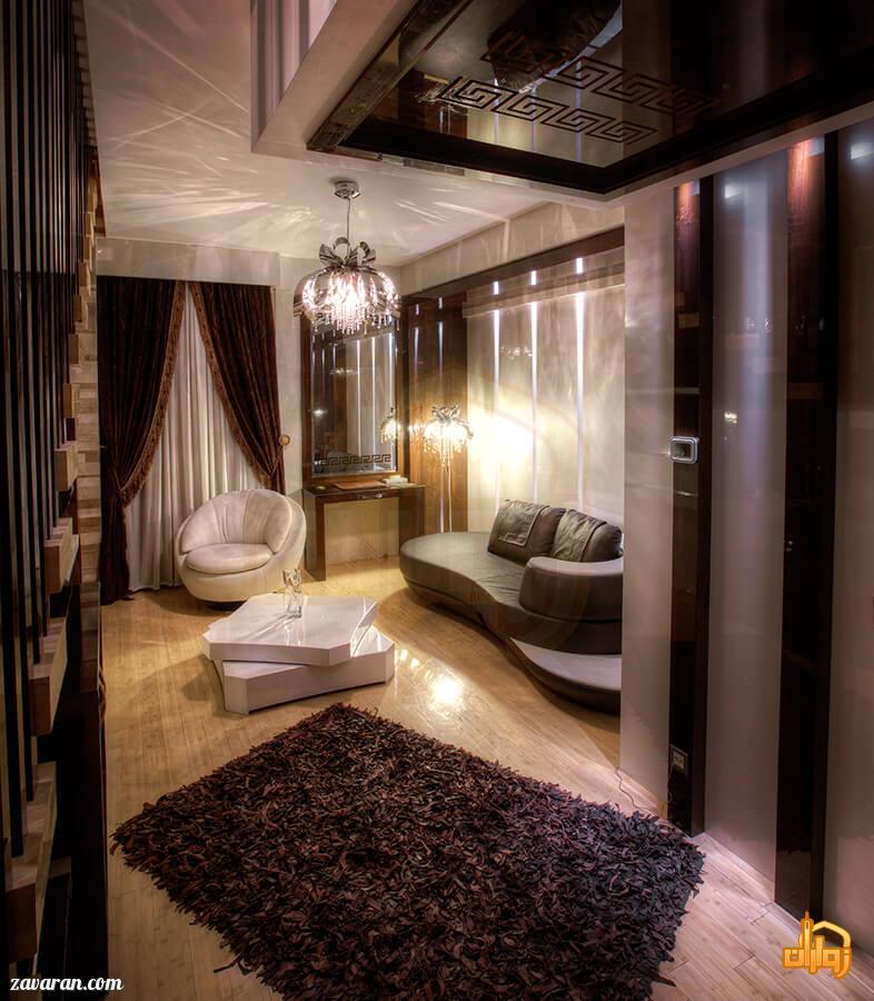 رزرو اتاق دوبلکس هتل درویشی مشهد