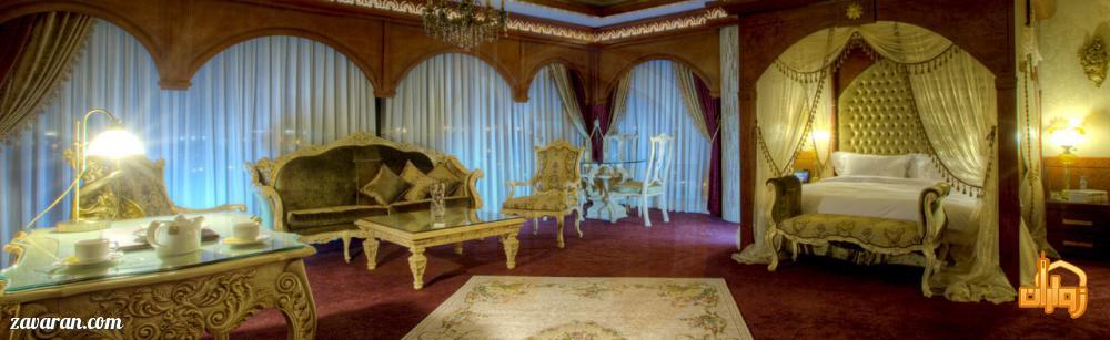 پنت هوس رم هتل درویشی مشهد