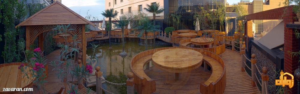لمکده سنتی برکه هتل درویشی مشهد