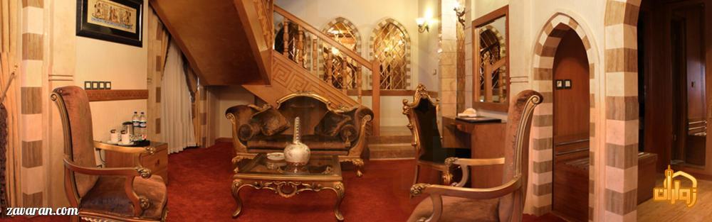 رزرو اتاق دوبلکس مصر هتل درویشی مشهد