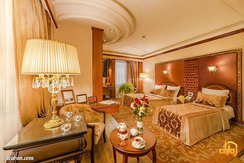 رزرو هتل قصر طلایی مشهد