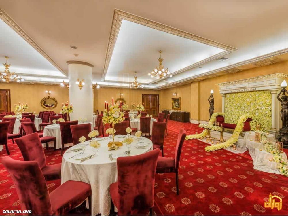 رستوران VIP پرستیژ هتل قصر طلایی مشهد