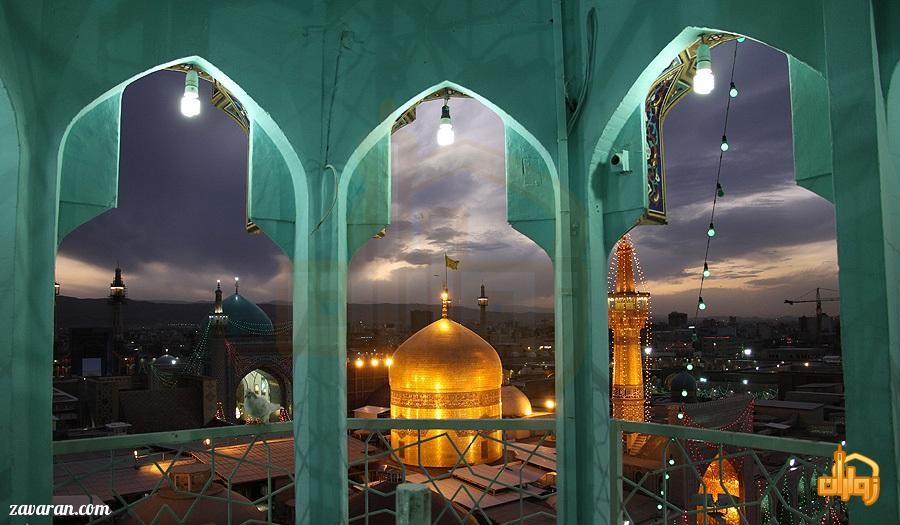 هتل های مشهد با قیمت در اربعین