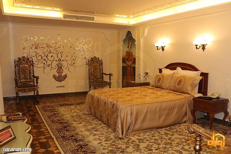رزرو اتاق دو تخته هتل قصر طلایی مشهد