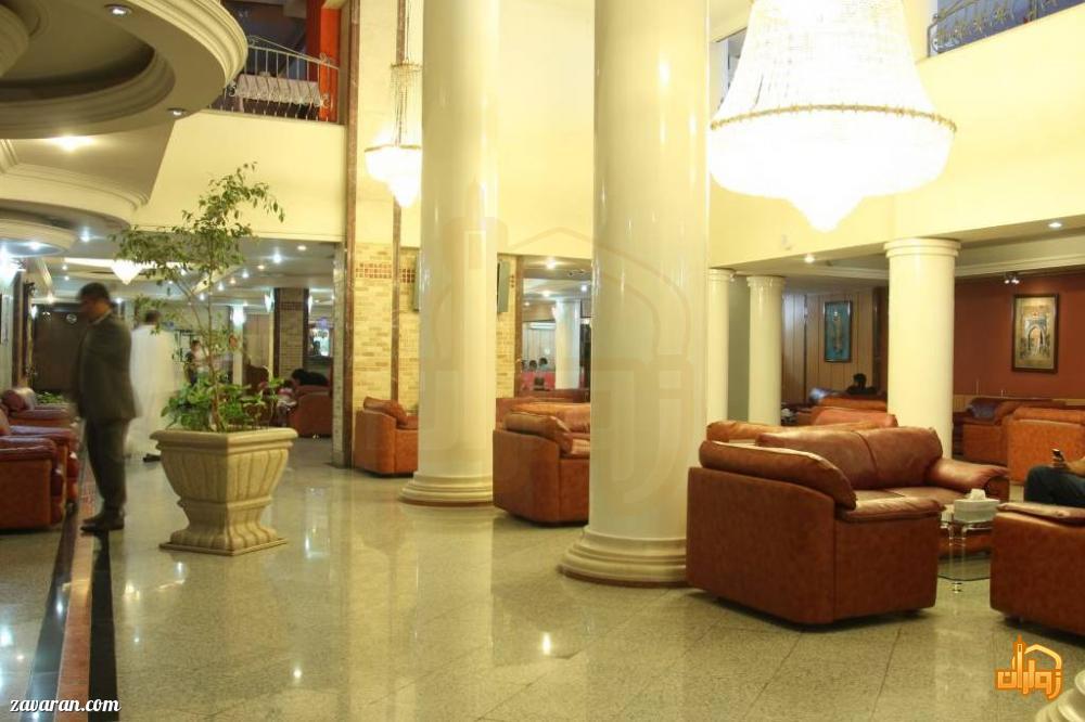 فضای داخلی هتل اطلس مشهد