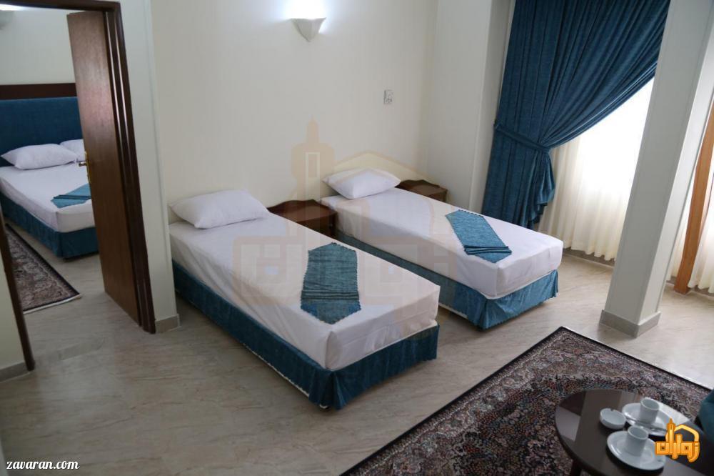 رزرو اتاق خواب دار هتل آتی مشهد