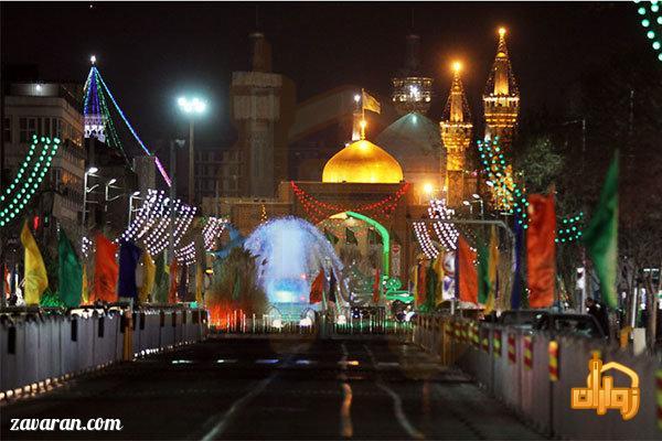 قیمت هتل در مشهد برای اواخر آبان 98