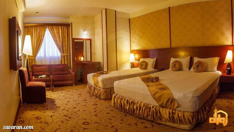 رزرو اتاق سه تخته هتل عماد مشهد
