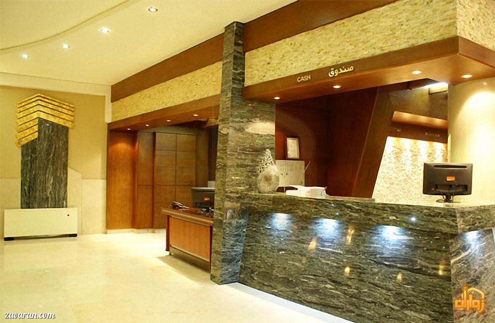 پذیرش هتل عماد مشهد