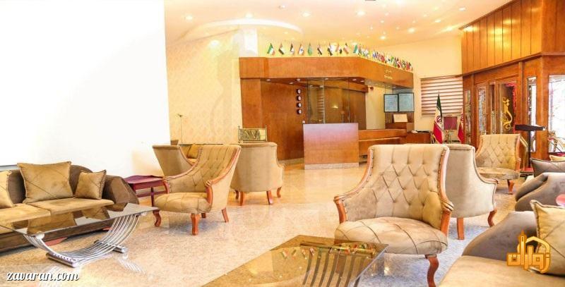 فضای داخلی هتل آتی مشهد