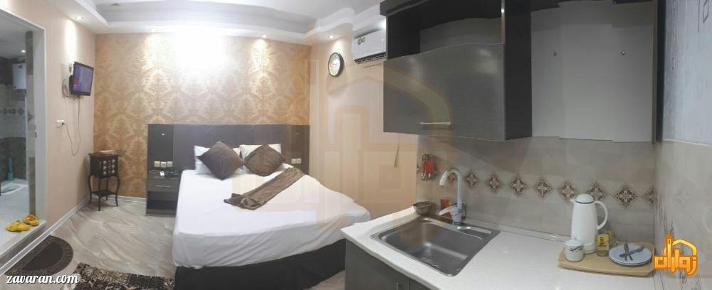 رزرو اتاق دو تخته هتل یزدان مشهد