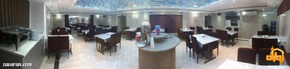 رستوران هتل یزدان مشهد