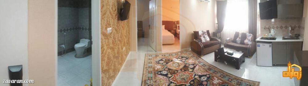 رزرو اتاق دو خوابه هتل یزدان مشهد