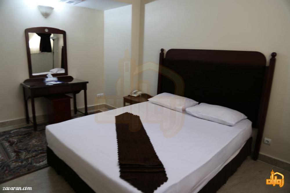 رزرو اتاق دو تخته هتل آتی مشهد