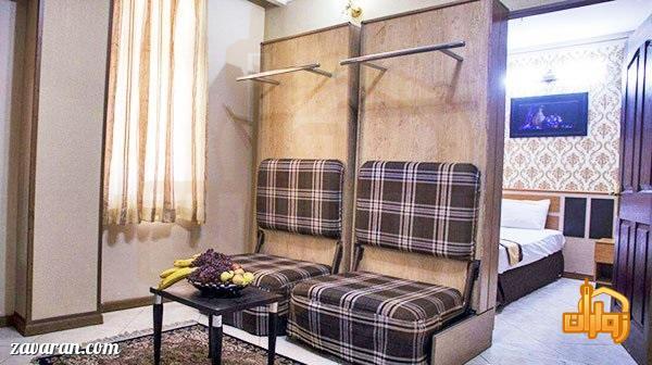 رزرو اتاق خواب دار در هتل آپارتمان پاویون مشهد