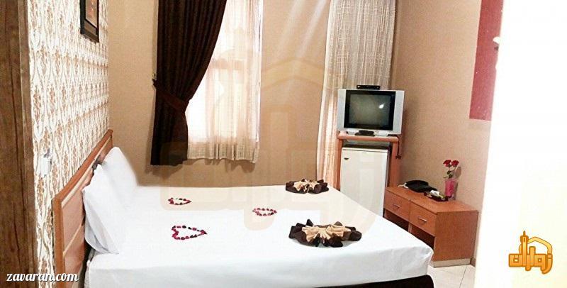 رزرو اتاق دو تخته هتل پاویون مشهد