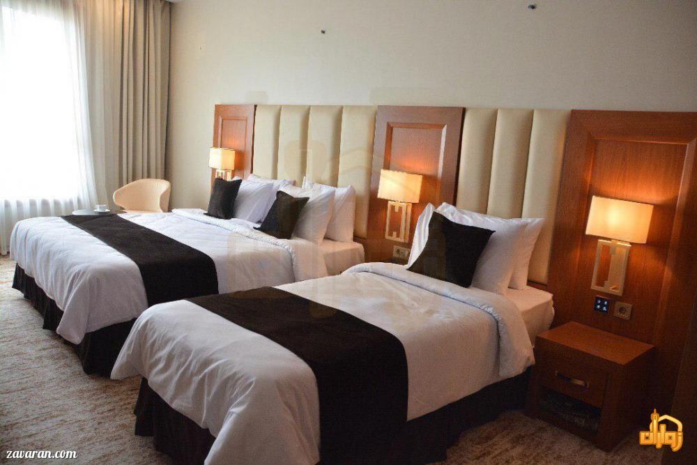 رزرو اتاق سه تخته هتل سارینا مشهد