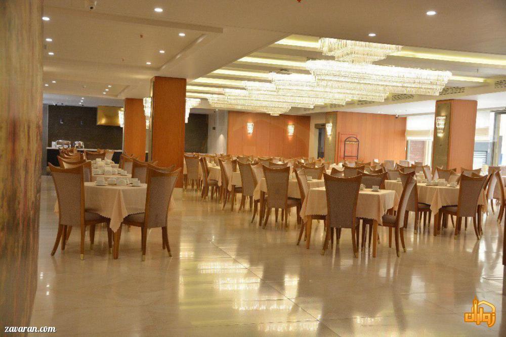 رستوران هتل سارینا مشهد