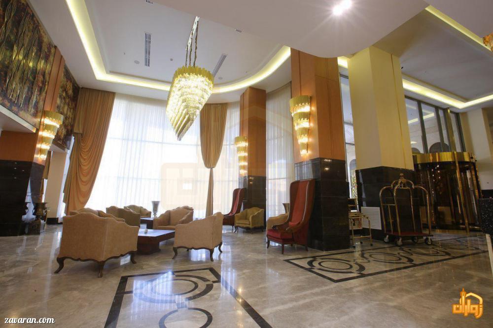 فضای داخلی و لابی هتل سارینا مشهد