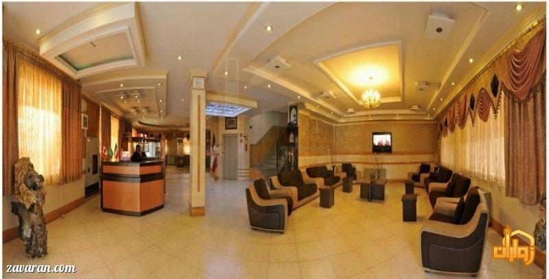 فضای داخلی هتل پاویون مشهد