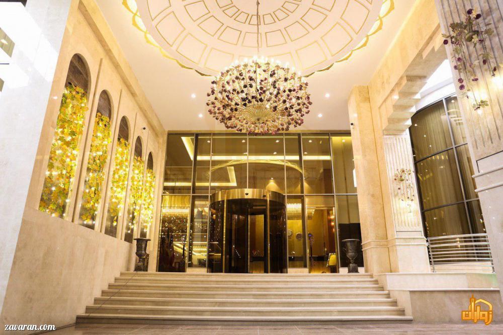 ورودی هتل سارینا مشهد