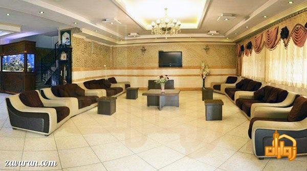 لابی هتل آپارتمان پاویون مشهد