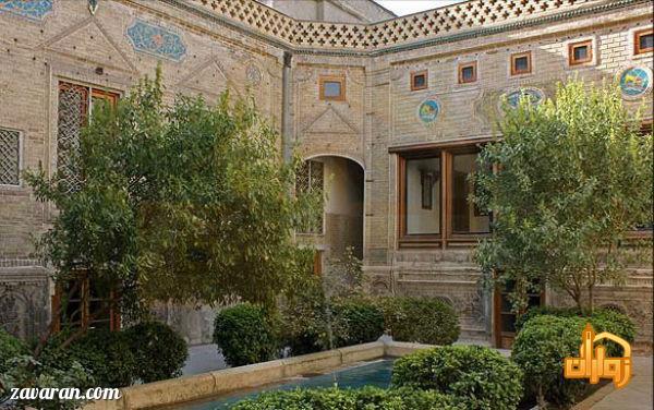 نمای خانه ملک مشهد
